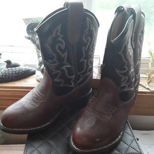 Cowboy Boots - Size 9W - Kids
